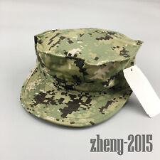 NWT NWU Type III Navy Seal AOR2 Digital Woodland UTILITY 8 Point CAP Hat 7 1/2