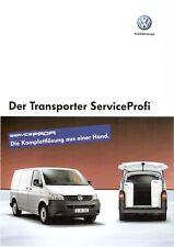 Prospekt / Brochure VW Transporter ServiceProfi 11/2006