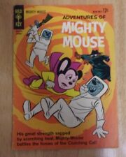 ADVENTURES OF  MIGHTY MOUSE #160 VG+ 1963 SOLID PLUS YELLOWJACKET BACKUP