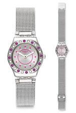 Swatch Swatch Meche Rose Uhr YSS319M Analog  Edelstahl Silber