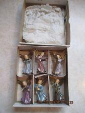 Angel Musicians Set of 6 Vintage Figurines