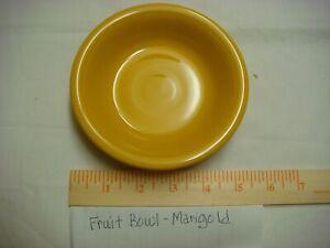 Fiestaware Marigold Fruit Bowl Color - Retired Color