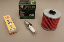 Kawasaki KLR650 Tune Up Kit NGK DPR8EA-9 Spark Plug HF123 Oil Filter KLR 650