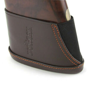 Tourbon Leather Henry Rifle Buttstock Recoil Pad Slip-on in Small-Special Offer