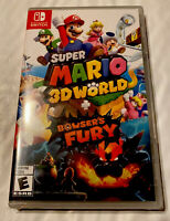 Super Mario 3D World + Bowser's Fury Nintendo Switch - Brand New Factory Sealed