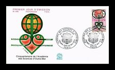 DR JIM STAMPS ACADEMIE DES SCIENCES D'OUTRE MER FIRST DAY ISSUE FRANCE COVER