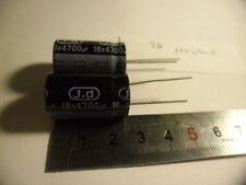Condensateur 16V 4700uF.Jd. (X2)