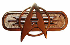 Star Trek Federation Uniform Insignia Jacket Pin (AUTHENTIC FULL SIZE)