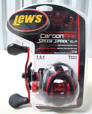 Lew's CF1SHLAC Carbon Fire Speed Spool SLP Baitcasting Reel Left Handed