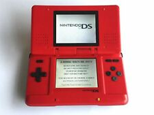 Nintendo DS Original Large Hand Held Console Phat Includes Charger Red