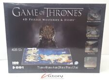 Brand New Games of Thrones 4D Puzzle - Westeros & Essos - 891 Piece Puzzle