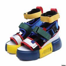 1 Pair Women Summer Platform High Heels Ladies Casual Shoes Wedge Chunky Sandals