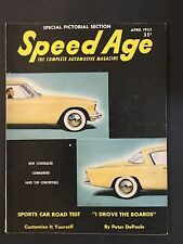 April 1953 Speed Age Magazine  - Studebaker Commander