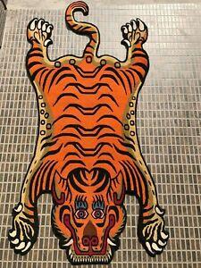 Tibetan Tiger skin Rug