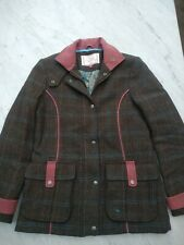 Ness Tweed Field Coat Size 10