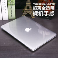 See-through crystal hard case keyboard cover For Apple macbook Air 13 Pro 15 Mac