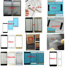Outer Front Screen Glass Lens For Huawei Mate 7 P8 9 10 Lite Plus Honor 7 8 +OCA