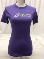 Asics Women's Athletic Shirt, Purple, Size XS