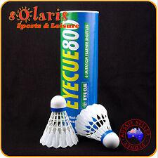 1xDoz Artificial Feather Badminton Shuttlecocks Plastic Nylon Shuttlecock