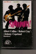ALBERT COLLINS, ROBERT CRAY, JOHNNY COPELAND  -   SHOWDOWN TEXAS BLUES CASSETTE