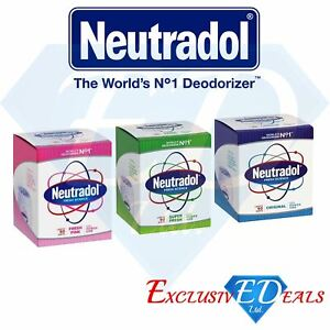 3 x Neutradol Gel Odour Destroyer Original Super Fresh Last 90 Days (Pack of 3)