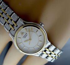 *****CREDOR SEIKO 4J86 Damen Armbanduhr St./ 18K 750 Massiv Gold!!! Selten