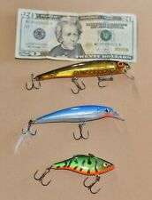 Rattling Fishing Lures - Lot of three - D