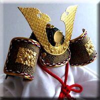 Japanese Doll Miniature KABUTO Samurai Helmet Boys Day REGULARY $45!