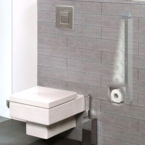 ESS EasyDrain Container Roll Unterputz WC - Papier Vorratsbehälter für 6 Rollen