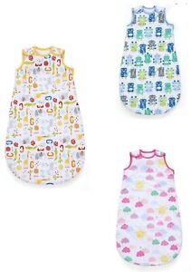 MOTHERCARE Baby Sleeping Bag Nursery Bedding Boys Girls Jungle Animal 1 TOG NEW