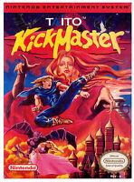 Kick Master (Nintendo Entertainment System, 1992) CART ONLY