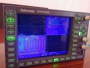 Tektronix WFM8200 Advanced Analog SD HD 3G-SDIWaveform Monitor