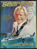 Searace A History of Offshore Powerboat Racing John Crouse 1ST Edition 1989 HCB