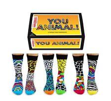 United Oddsocks Be a Unicorn Women UK Size 4 - 8 Six 6 Cute Odd Socks Set Gift