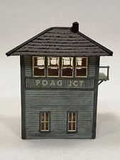 N scale Halloran scratch built N&W NKP prototype Poag Junction tower