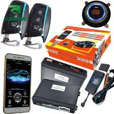 GPS Car PKE Alarm System Passive Keyless Entry Remote Auto Starter Push Button