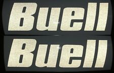 Buell vinyl decals. Small. Reflective White . Or Choose your Color.