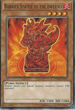 YU-GI-OH CARD: BARRIER STATUE OF THE INFERNO - OP04-EN018