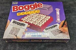 PARKER BOGGLE MASTER ( VINTAGE 1993) BOXED & COMPLETE GAME NEW