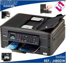 Printer Multifunction Colour Brother MFC J480DW Fax Wifi Duplex Inks X