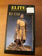 54mm ELITE MINIATURAS EL CID  JC/54.22 no Pégaso no Andréa