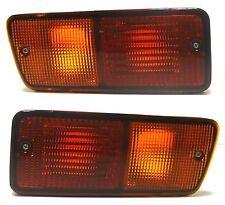 Rear tail bumper lights lamp Left + Right SET fits NISSAN PATROL GR 1986-2010