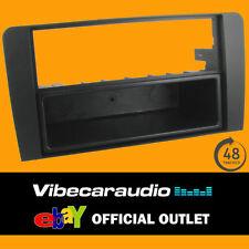 Audi A3 2004-2009 Black Fascia Facia Adaptor Panel Surround Stereo CT24AU09