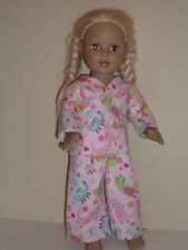 """Cute Dinosaurs Pajamas for 18"""" Doll Clothes American Girl"""