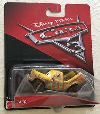 Disney Pixar Cars 3 diecast TACO Brand New
