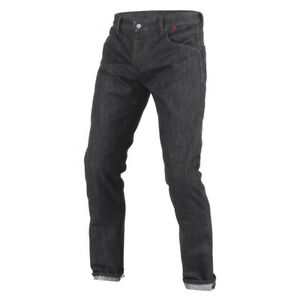 Dainese Strokeville Slim Protective Motorbike Motorcycle Jeans Black Mens SALE