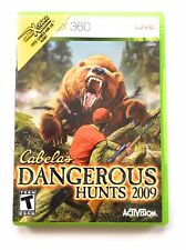 Cabela's Dangerous Hunts 2009  (Xbox 360, 2008)