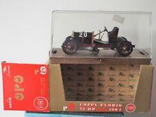 1/43 Scale Diecast Brumm Oro R9 FIAT 75 HP Coppa Florio Corsa 1904, MINT Model