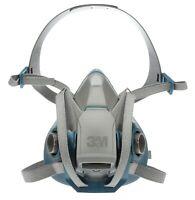 3M 6501QL Rugged Comfort Quick Latch Half Facepiece Reusable Respirator - SMALL