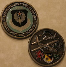Air Force Special Operations Command Hurlburt Field Challenge Coin AFSOC PJ  C_S